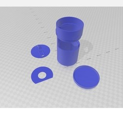 Modelo de Dispenser Automatico Impreso en 3d.jpg Télécharger fichier STL gratuit Distributeur automatique d'imprimés 3d • Design pour impression 3D, 3dInprim