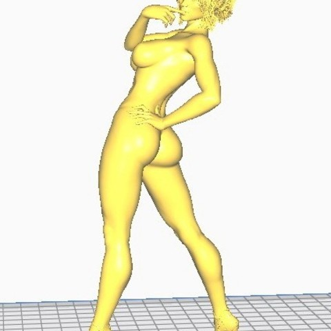 3D printing model Sexy lady, screw