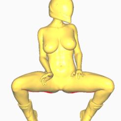 Download 3D printer templates Bike lady, screw