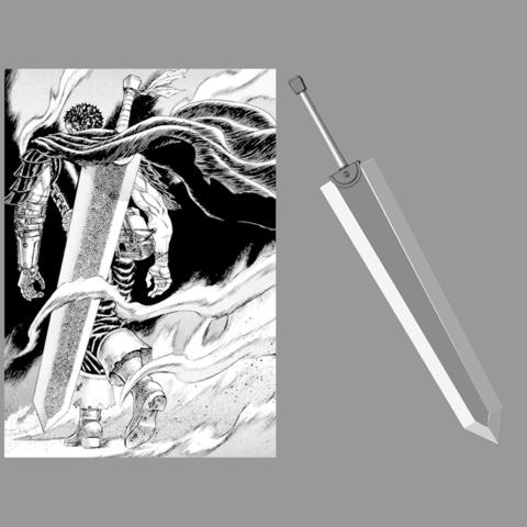 3D printing model Berserk Sword Dragonslayer - Fan Art - 3D print model, adesign9x