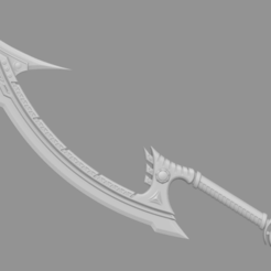 Download 3D printer model Project Diana Sword from league of legends - Fan Art, adesign9x
