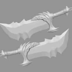 Download 3D printing files Blade of Kratos From God of War - Fan Art 3D print model, 3D-PrintStore