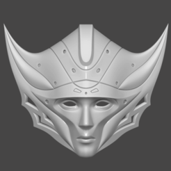 Download STL files Princess Kushana Mask Cosplay 3D print model 3D print model, 3D-PrintStore