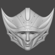 Archivos 3D Máscara Princesa Kushana Máscara Cosplay Modelo de impresión 3D Modelo de impresión 3D, adesign9x