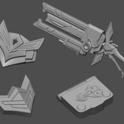 1.png Télécharger fichier STL Battle Professor Graves Skin LOL league of legends - Fan Art 3D print model • Plan à imprimer en 3D, 3D-PrintStore