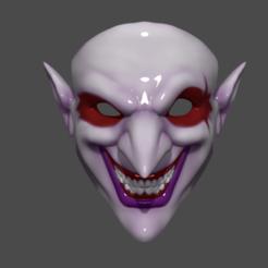 Imprimir en 3D Máscara de Shaco 3D Imprimible Modelo de impresión 3D, 3D-PrintStore