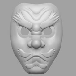 Urokodaki_mask_01.png Télécharger fichier STL Masque Sakonji Urokodaki de Demon Slayer - Fan Art pour le modèle d'impression 3D cosplay • Modèle imprimable en 3D, 3D-PrintStore