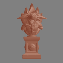 STL files Pokemon Lycanroc Midnight Bust - Fan Art - Figure 3D print model 3D print model, adesign9x