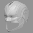 Download 3D printing templates Captain Marvel helmet - Fan Art for cosplay 3D print model, 3D-PrintStore
