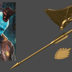 Download 3D printing files Yondu Accessories - Guardians of the Galaxy-Fan Art for cosplay 3D print model, 3D-PrintStore