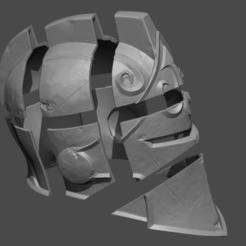 Download STL Black Knight Helmet from Fortnite Fan Art 3D print model, 3D-PrintStore