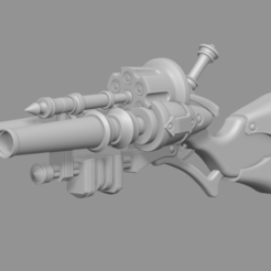 Descargar modelos 3D para imprimir Graves Shotgun LOL league of legends - Fan Art Modelo de impresión en 3D, adesign9x