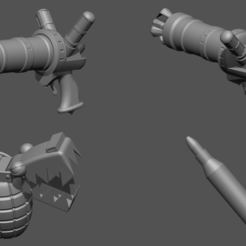 20.png Download STL file Jinx Zapcannon - Chomper LOL league of legends - Fan Art 3D print model • 3D print object, 3D-PrintStore