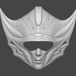 Download 3D printer model Princess Kushana Mask Cosplay 3D print model 3D print model 3D print model, adesign9x