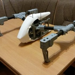 Download free 3D printer templates DJI Inspire, realjobber