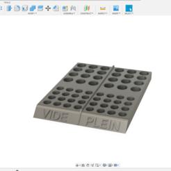 Download 3D printing designs Rechargeable battery sorter holder, arnodema