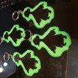 Download free 3D printer model Key rings simpsons keyring burns sheep skinner, Surfer_Calavera