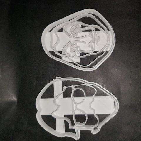 Télécharger fichier impression 3D gratuit Biscuits à l'emporte-pièce à l'emporte-pièce en papier maison, Surfer_Calavera