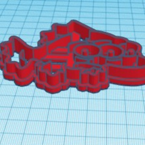 Download free 3D printing templates simpsons blinky fish cortante cutter, Surfer_Calavera