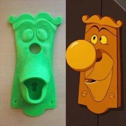 Download 3D printer templates Alice in Wonderland Door Knob, prototypes_and_pixie_dust