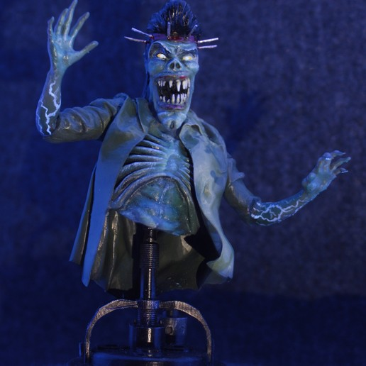 Impresiones 3D GHOSTBUSTERS 2 - TONY SCOLERI GHOST BUST!, prototypes_and_pixie_dust