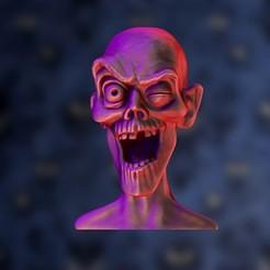 Descargar archivos 3D Cabeza Fantasma Pop-up de la Mansión Embrujada, prototypes_and_pixie_dust