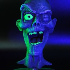 Download 3D print files Haunted Mansion Pop-up Ghost Head, prototypes_and_pixie_dust