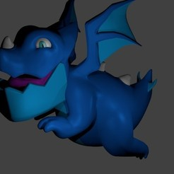 3D print model Electric Dragon Clash Royale, SnK3D