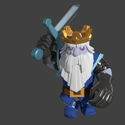 Download 3D printing models Royal Ghost - Clash Royal - Royal Ghost, SnK3D