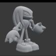 Imprimir en 3D gratis Knuckles, SnK3D