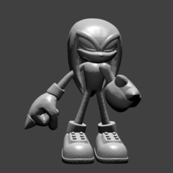 Download free 3D print files Knuckles, SnK3D