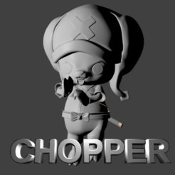 Download 3D printer model Chopper Wano Country Arc, SnK3D
