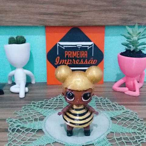3D print files Queen Bee - LOL , Primeira_Impressao