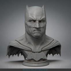 Download 3D printer model Batman Collectible Statue - 3D Printable, jinsk8r