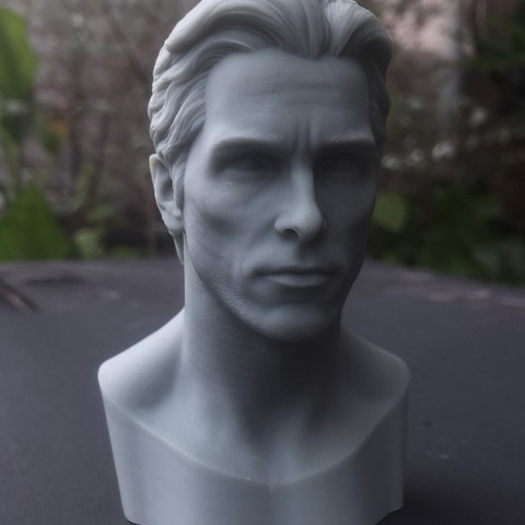 Fichier imprimante 3D Tête Christian Bale Likeness, jinsk8r