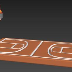 Télécharger modèle 3D Terrain de basketball, Mrplrhernandez