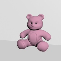 Download 3D printer files 3d teddy bear stuffed toy, mrplrhernandez