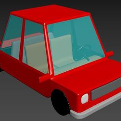 1.JPG Download STL file Auto cartoon • Object to 3D print, CristinaUY