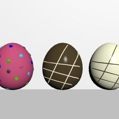 1.jpg Télécharger fichier STL Paquet d'œufs de Pâques • Objet pour imprimante 3D, CristinaUY