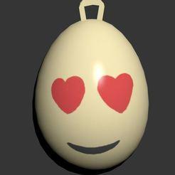 1.JPG Télécharger fichier STL Oeuf de Pâques Emoji • Objet à imprimer en 3D, CristinaUY
