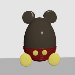 1.jpg Télécharger fichier STL Oeuf de Pâques mickey • Objet pour imprimante 3D, CristinaUY