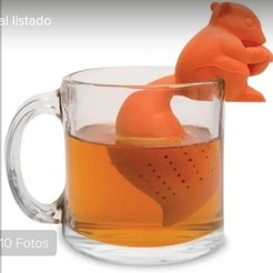 IMG_20200719_174900.jpg Download STL file Tea time! Squirrel • 3D print design, CristinaUY