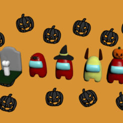 coso.png Download OBJ file Among us- halloween • 3D printable object, CristinaUY