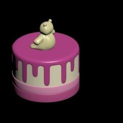 Télécharger modèle 3D Gâteau, CristinaUY
