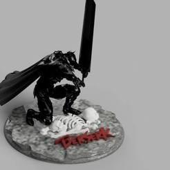 Download 3D printing designs Base berserk pedestal, BEBAT