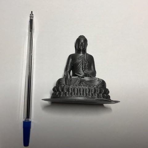 Download free 3D printer designs Thailand Buddha, JaroslavVondrak
