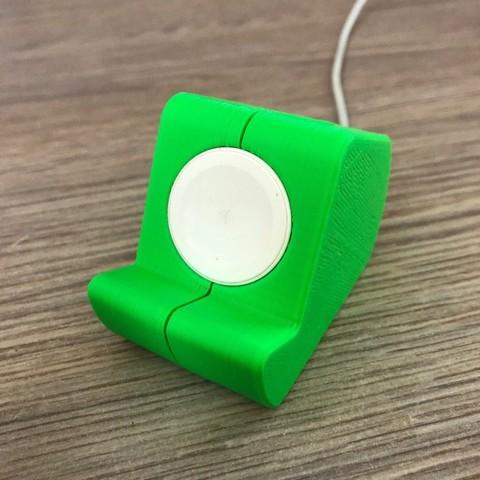 Download free 3D printer files Holder for Apple Watch , glebzyrt