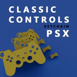 Modelos 3D para imprimir KEYCHAINS / LLAVERO PSX , IG_3D