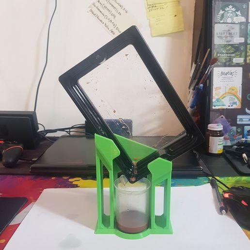 Télécharger modèle 3D Support de goutte-à-goutte en résine, Alx3D
