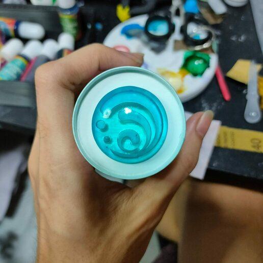 Télécharger fichier STL SET Genshin Impact Mondstadt Vision • Objet pour impression 3D, Alx3D